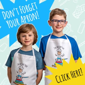 Don't forget your apron